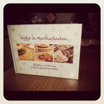 Recipe book with mum´s best recipes