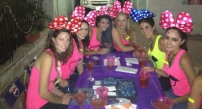 Mexican bachelorette party