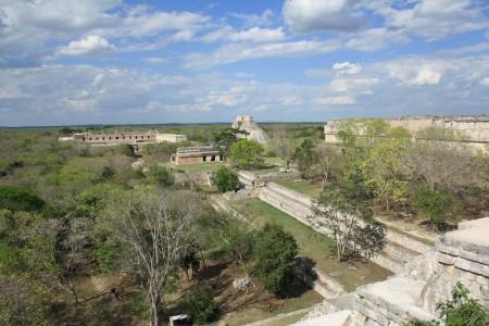 Maya ruin Uxmal