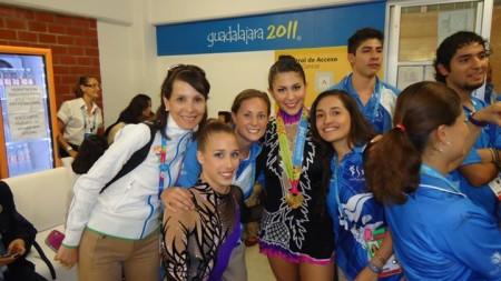 Backstage Pan American Games 2011