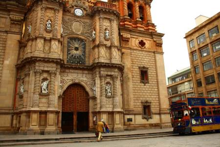 La Catedral Metropolitana de San Luis Rey, San Luis Potosí